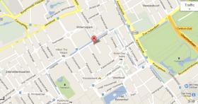 plattegrond LCP2 en omgeving